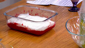 Aquafabalı Probiyotik Çilekli Dondurma