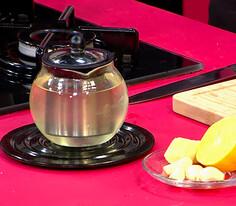 Zencefilli Sarımsak Çayı