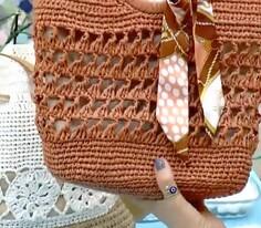 Yazlık Hasır Çanta Yapımı
