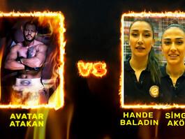 Filenin Sultanları ve Avatar Atakan ringde karşı karşıya geliyor!