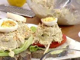 Tavuklu Sandviç Tarifi