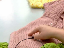 Kız Çocukları İçin Bebek Pançosu