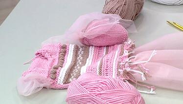 Tütülü Örgü Elbise Yapımı