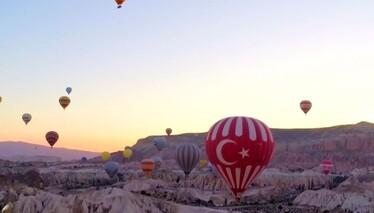 """Kapadokya semalarında """"Balon Turu"""""""