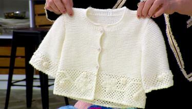 Derya Baykal'la Gülümse Zincir İşi Süslemeli Bebek Takımı