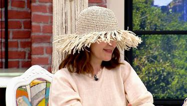 Derya Baykal'la Gülümse Rafya İpten Yazlık Şapka