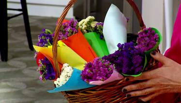 Derya Baykal'la Gülümse Bayramlık Çiçek Buketi