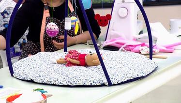 Derya Baykal'la Gülümse Pratik ve Kullanışlı Bebek Aktivite Minderi