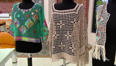 Derya Baykal'la Gülümse Tığ İşi Bluz Yapımı