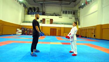 İki milli isim karate maçına çıkıyor!