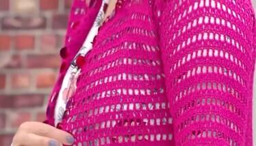 Derya Baykal'la Gülümse Yazlık Pullu Hırka Yapımı
