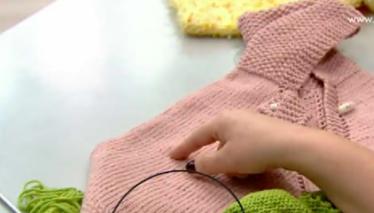 Derya Baykal'la Gülümse Kız Çocukları İçin Bebek Pançosu
